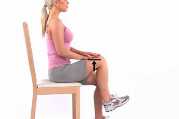 Seated-Knee-Marching