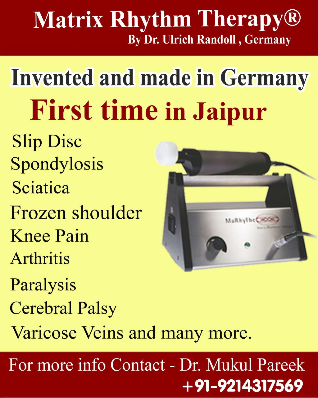Matrix Rhythm Therapy | First Time In Jaipur